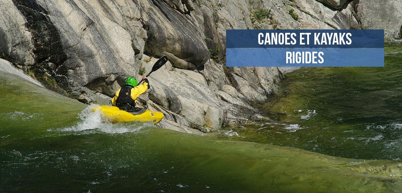 Canoes et kayaks rigides