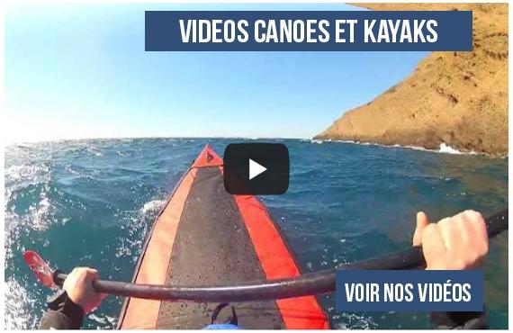 vidéos de canoes kayaks gonflables